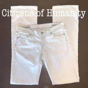 CITIZENS OF HUMANITY Valencia Kelly Bootcut 28